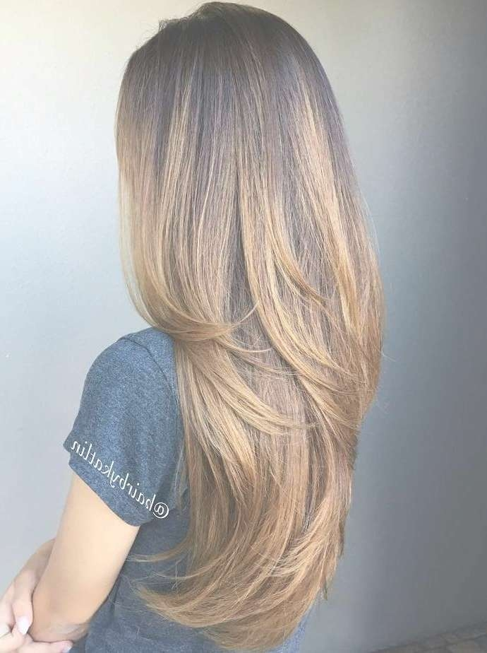 Long Hairstyles And Haircuts For Long Hair In 2018 — The Right Pertaining To Newest Layered Long Haircut Styles (View 8 of 25)