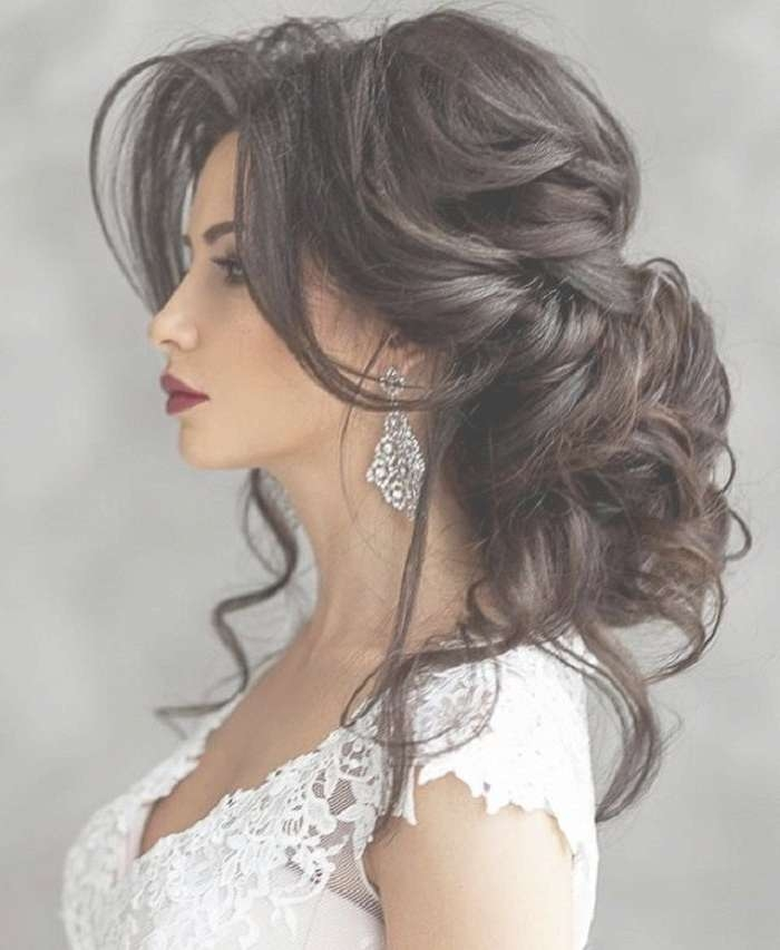 Long Hairstyles For Wedding Best 25 Long Wedding Hairstyles Ideas Intended For Recent Long Hairstyle For Wedding (View 5 of 25)
