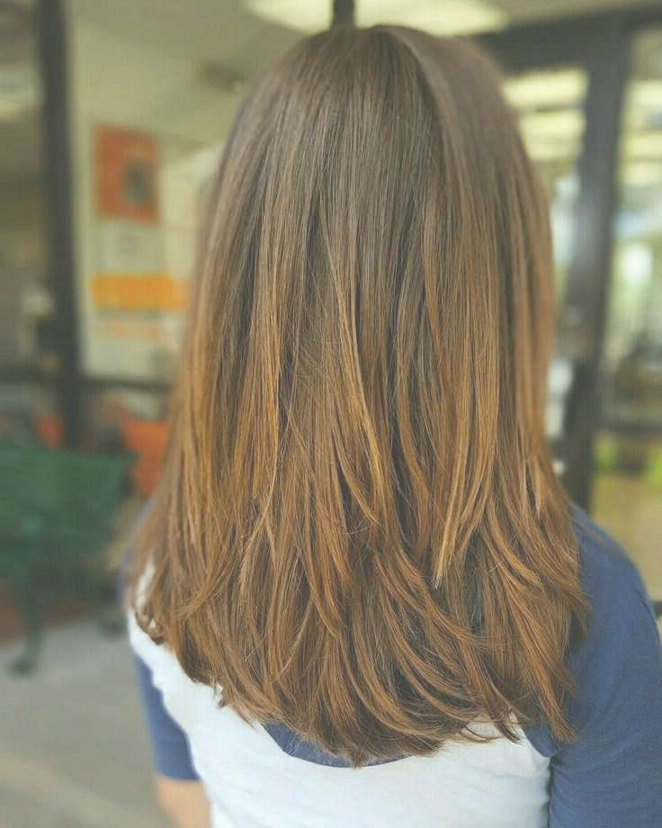 Displaying Gallery Of Long Haircut With Layers View 10 Of 25 Photos