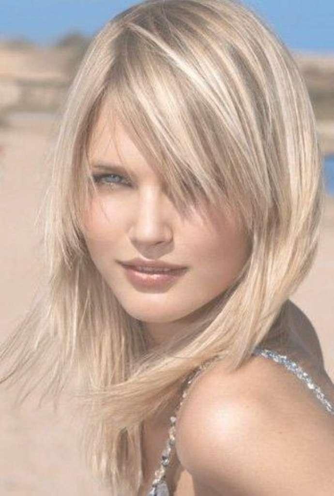 Long Length Haircuts For Thin Hair Tag Medium Length Haircuts For In Newest Medium Hairstyles For Thin Hair Oval Face (View 19 of 25)