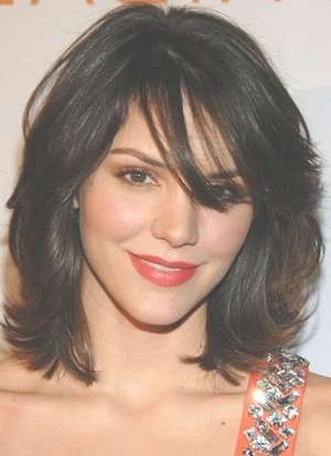 Look Great With These 5 Shoulder Length Hairstyles For Most Up To Date Medium Haircuts With Bangs And Layers (View 21 of 25)