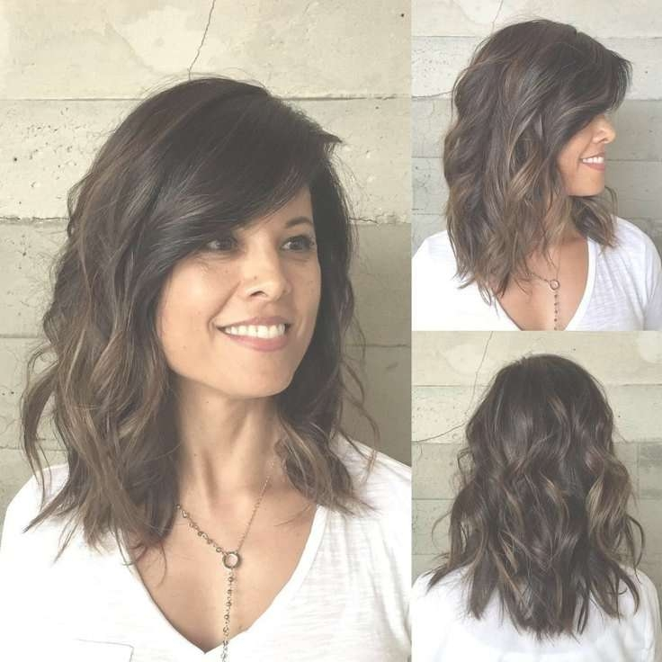 Low Maintenance Medium Length Hairstyles For Thick Hair 2017 With Most Current Medium Haircuts Thick Hair (View 2 of 25)
