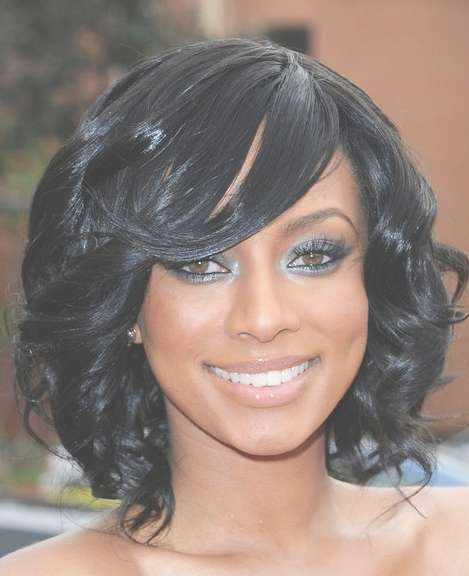 Medium Black Prom Hairstyles – Hairstyles Weekly In Recent Medium Hairstyles For Black Hair (View 9 of 25)
