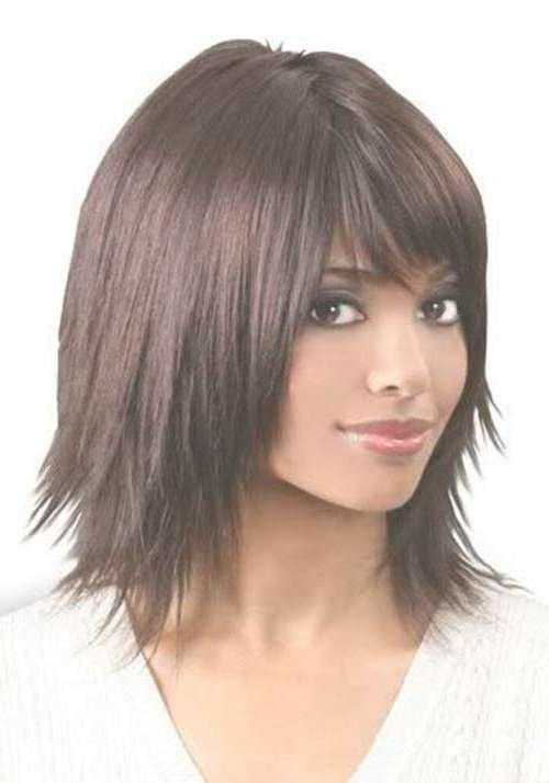Medium Bob Haircuts For 2017 | New Haircuts To Try For 2018 Regarding Recent Razor Cut Medium Hairstyles (View 11 of 25)