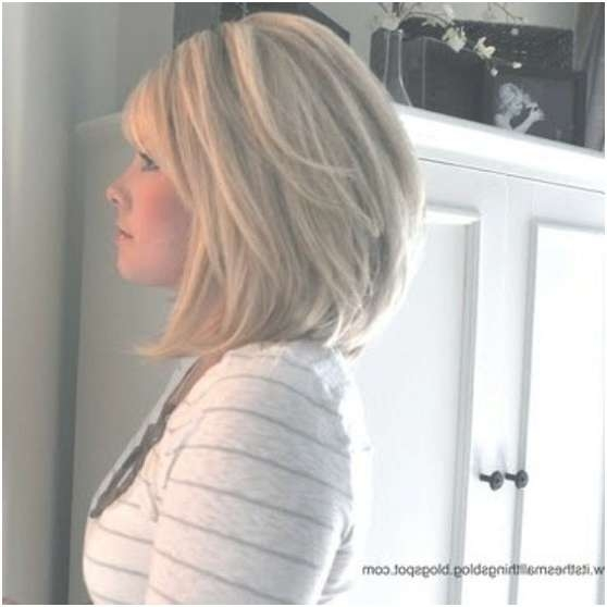 Medium Bob Hairstyle For Thick Hair – Popular Haircuts Intended For Medium Bob Cut Hairstyles (View 19 of 25)