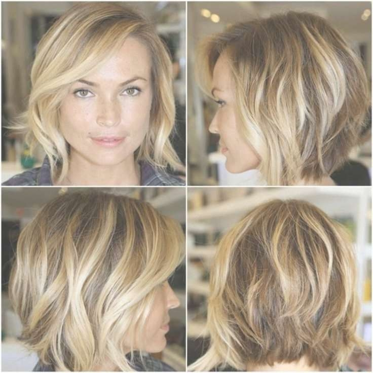 Medium Bob Hairstyles Pinterest Within Most Recent Medium Haircuts For Women With Oval Face (View 15 of 25)