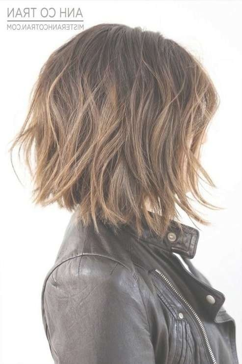 Medium Bob Hairstyles Thick Hair For Most Recent Medium Hairstyles For Very Thick Hair (View 13 of 16)