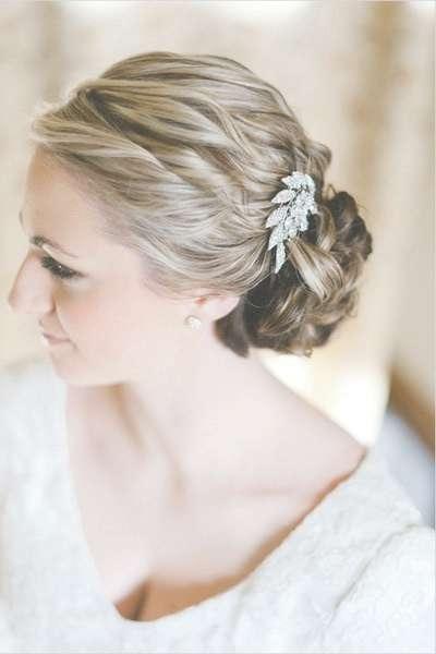 Medium Bridal Hairstyles | World Of Bridal Inside Most Current Bridal Medium Hairstyles (View 25 of 25)