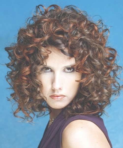 Medium Curly Hairstyles For Long Faces With Newest Medium Haircuts For Long Chin (View 18 of 25)