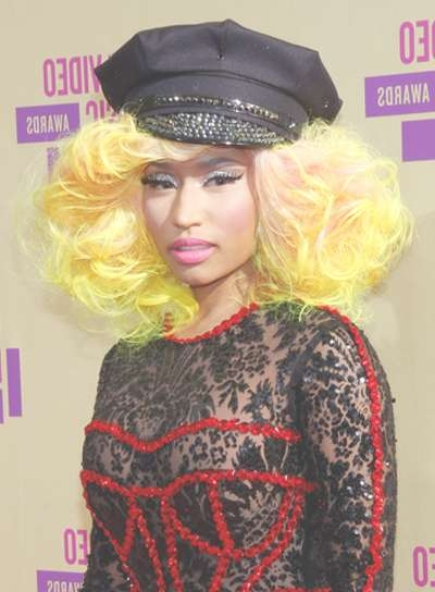 Medium, Edgy Hairstyles – Beauty Riot Regarding Best And Newest Nicki Minaj Medium Haircuts (View 15 of 25)