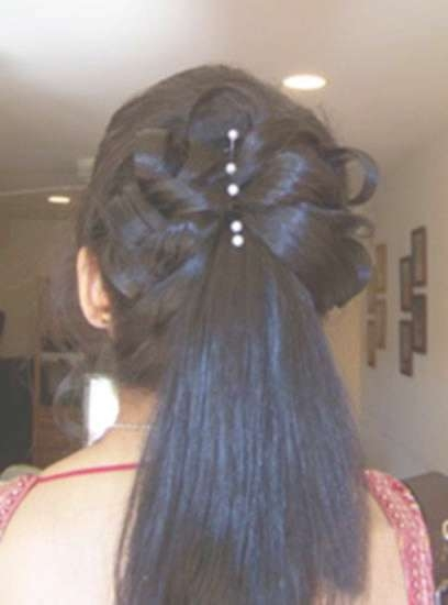 Medium Hair Dos 15 Indian Bridal Hairstyles 5 Ideas – New Pertaining To Latest Indian Bridal Medium Hairstyles (View 20 of 25)