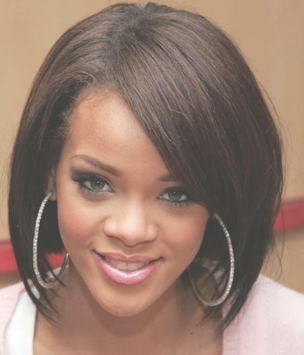 Medium Haircuts For Black Women – Hairstyle For Women & Man Inside Current Black Bob Medium Hairstyles (View 7 of 15)