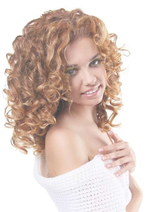 Medium Haircuts For Curly Hair | New Haircuts To Try For 2018 For Most Recently Medium Hairstyles With Layers And Curls (View 17 of 25)