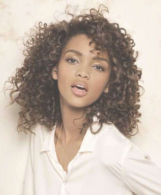 Medium Haircuts For Curly Hair | New Haircuts To Try For 2018 Intended For Best And Newest Medium Hairstyles For Very Curly Hair (View 9 of 15)