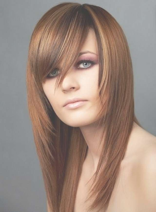 View Gallery Of Medium Hairstyles For Square Faces With Bangs