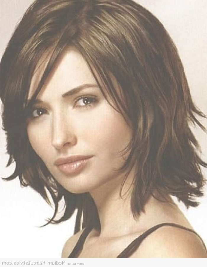 Medium Haircuts For Thick Hair – Short Haircuts For Women Over 40 Within Most Up To Date Medium Hairstyles For Thick Hair Over  (View 8 of 15)