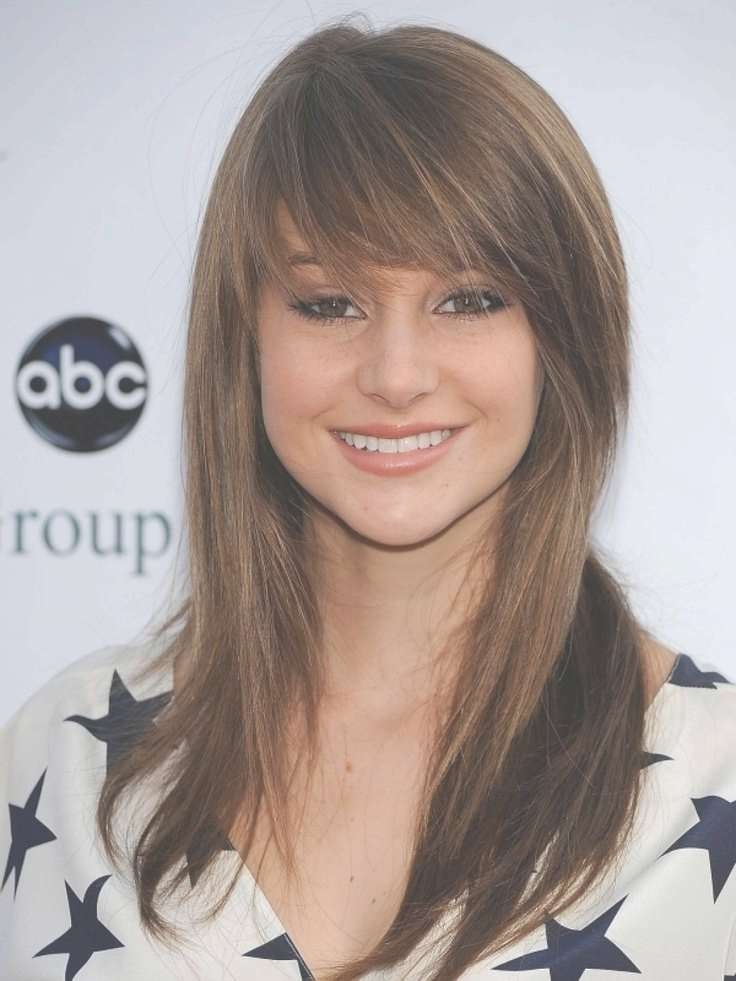 Medium Haircuts For Women With Bangs Intended For Most Recently Medium Hairstyles For Women With Bangs (View 13 of 25)
