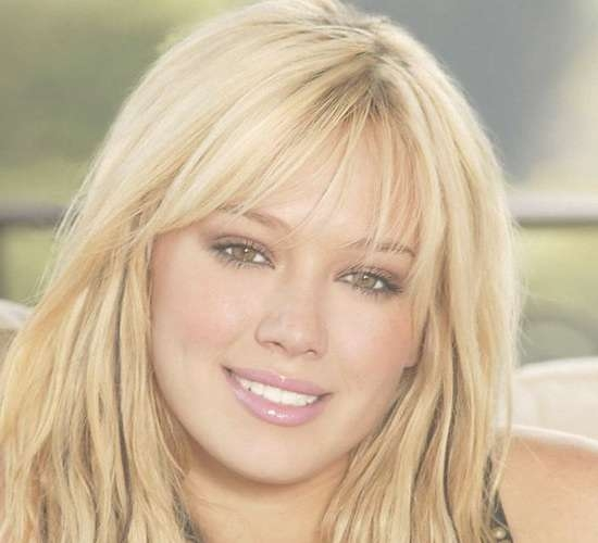 Medium Haircuts With Bangs For Round Faces   Wispy Bangs Wispy Within 2018 Medium Hairstyles With Bangs For Round Faces (View 25 of 25)