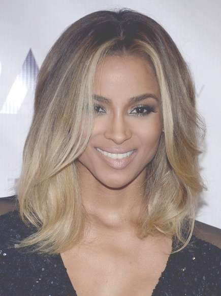 Medium Hairstyles 2018 – Trendy Celebrity Medium Length Haircuts For Best And Newest Cute Celebrity Medium Haircuts (View 2 of 25)