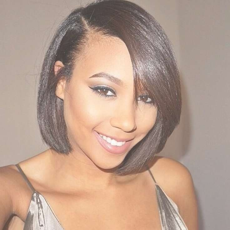 Medium Hairstyles For Black Hair – 42Lions With Most Recently Medium Haircuts For Relaxed Hair (View 22 of 25)
