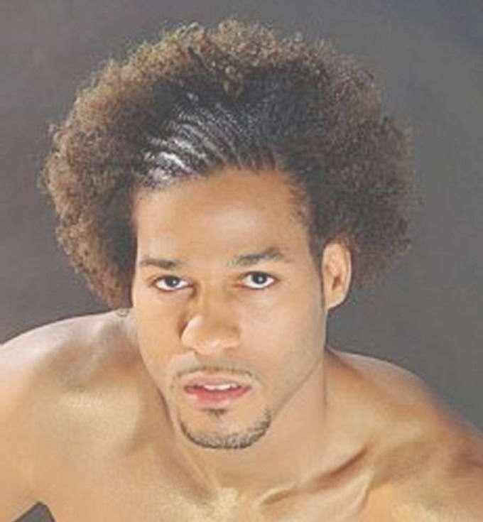Medium Hairstyles For Black Men   Men Hairstyles Pictures Regarding Newest Black People Medium Hairstyles (View 7 of 25)