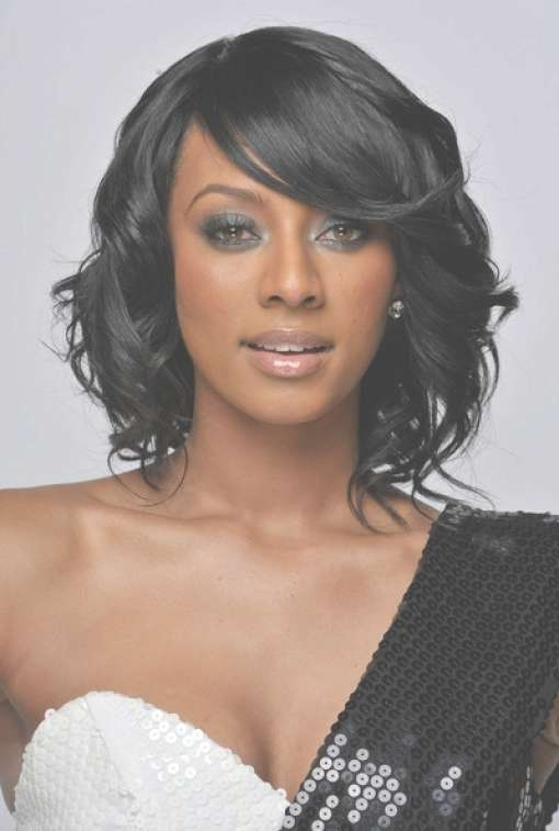 Medium Hairstyles For Black Women 2012 – Hairstyles Twine Pertaining To Most Current Medium Haircuts On Black Women (View 17 of 25)