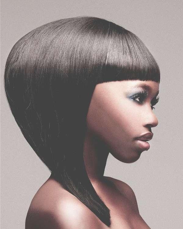 Medium Hairstyles For Black Women – Short Haircuts 2013, Haircuts Inside Latest Black Woman Medium Haircuts (View 24 of 25)
