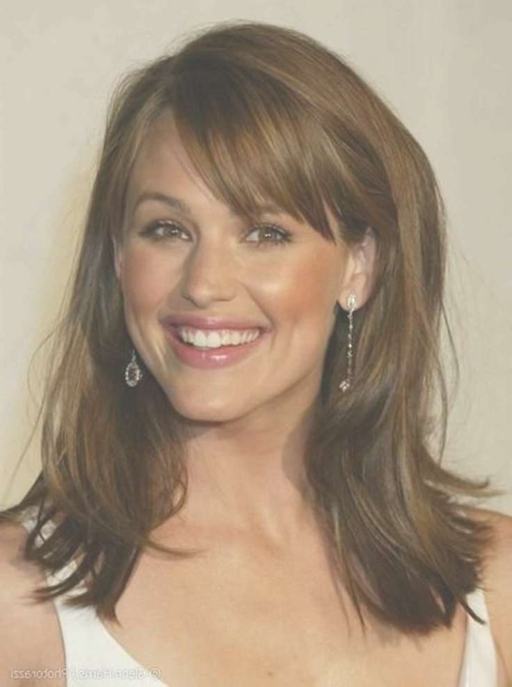 Medium Hairstyles For Older Women With Bangs Intended For Current Medium Hairstyles For Mature Women (View 15 of 25)