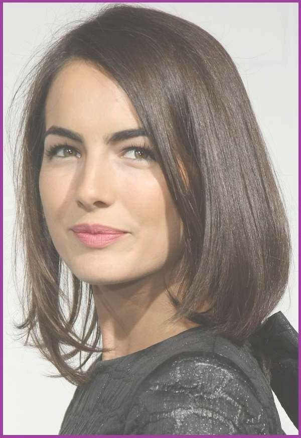 Medium Hairstyles For Round Faces And Thick Hair – Hairstyles For Newest Medium Hairstyles For Round Faces (View 16 of 25)