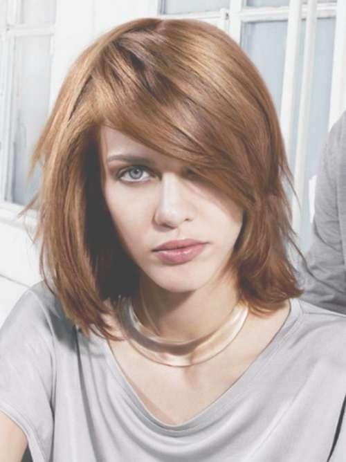 Medium Hairstyles For Round Faces | Natural Hair Care With Regard To Current Medium Medium Hairstyles For Round Faces (View 14 of 15)