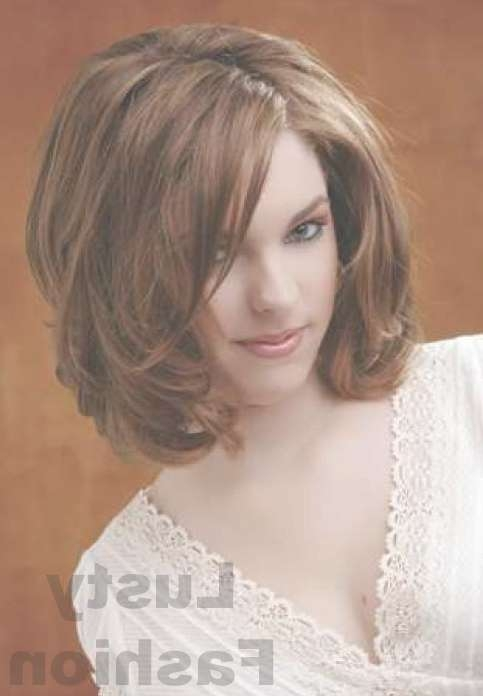 Medium Hairstyles For Thick Hair 2013 – Lustyfashion Intended For Current Medium Haircuts For Round Faces And Thick Hair (View 23 of 25)