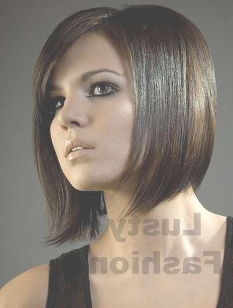 Medium Hairstyles For Thin Hair 2013 – Lustyfashion Intended For 2018 Medium Hairstyles For Thin Hair And Round Faces (View 9 of 15)