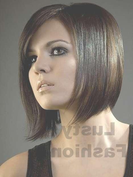 Medium Hairstyles For Thin Hair 2013 – Lustyfashion Within Newest Medium Hairstyles For Round Faces And Thin Hair (View 6 of 25)