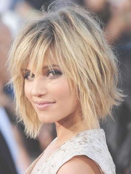 Medium Hairstyles For Women With Thick Hair – The Hairstyle Blog With Latest Choppy Medium Hairstyles For Thick Hair (View 8 of 15)
