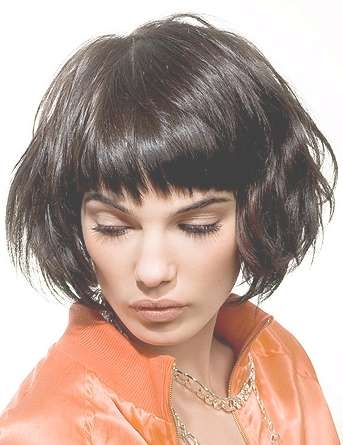 Medium Hairstyles With Bangs For 2012 | Hairstyles 2015 Hair With Most Current Medium Hairstyles With Short Bangs (View 13 of 25)