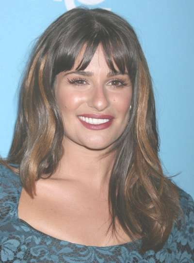Medium Hairstyles With Highlights And Bangs – Beauty Riot Intended For Most Popular Medium Hairstyles And Highlights (View 11 of 15)