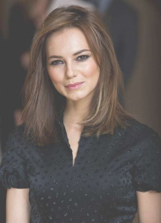 Medium Hairstyles With Layers From Kara Tointon – Hairstyles Weekly For Most Recent Classic Medium Hairstyles (View 13 of 15)