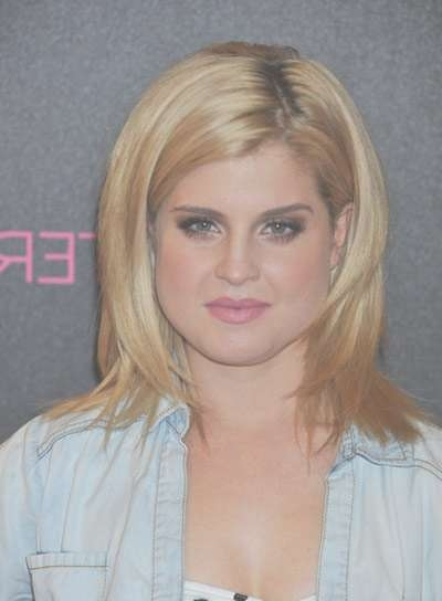 Medium, Layered, Blonde Hairstyles – Beauty Riot Throughout Current Kelly Osbourne Medium Haircuts (View 7 of 25)