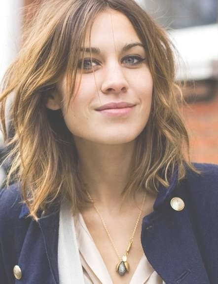 Medium Layered Haircut: Easy Hair Styles – Popular Haircuts In Most Current Medium Haircuts Styles With Layers (View 6 of 25)