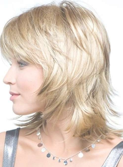 Medium Layered Haircut For Women Over 40 – Hairstyles Weekly With Best And Newest Medium Haircuts Styles For Women Over (View 10 of 25)
