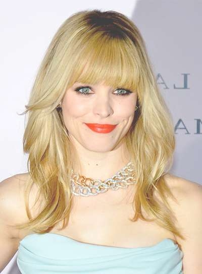 Medium, Layered Hairstyles With Bangs – Beauty Riot Within Current Medium Haircuts With Bangs And Layers (View 7 of 25)