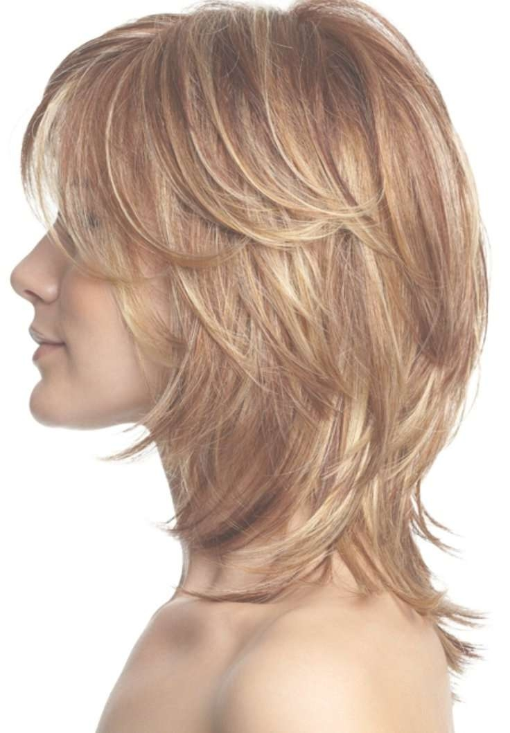 Medium Layered Shag Hairstyles With Most Current Layered Shaggy Medium Hairstyles (View 14 of 25)