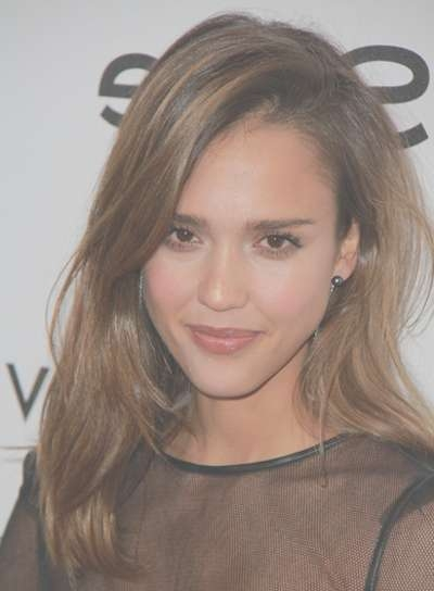 Medium, Layered, Tousled Hairstyles – Beauty Riot Throughout Most Current Jessica Alba Medium Haircuts (View 10 of 25)