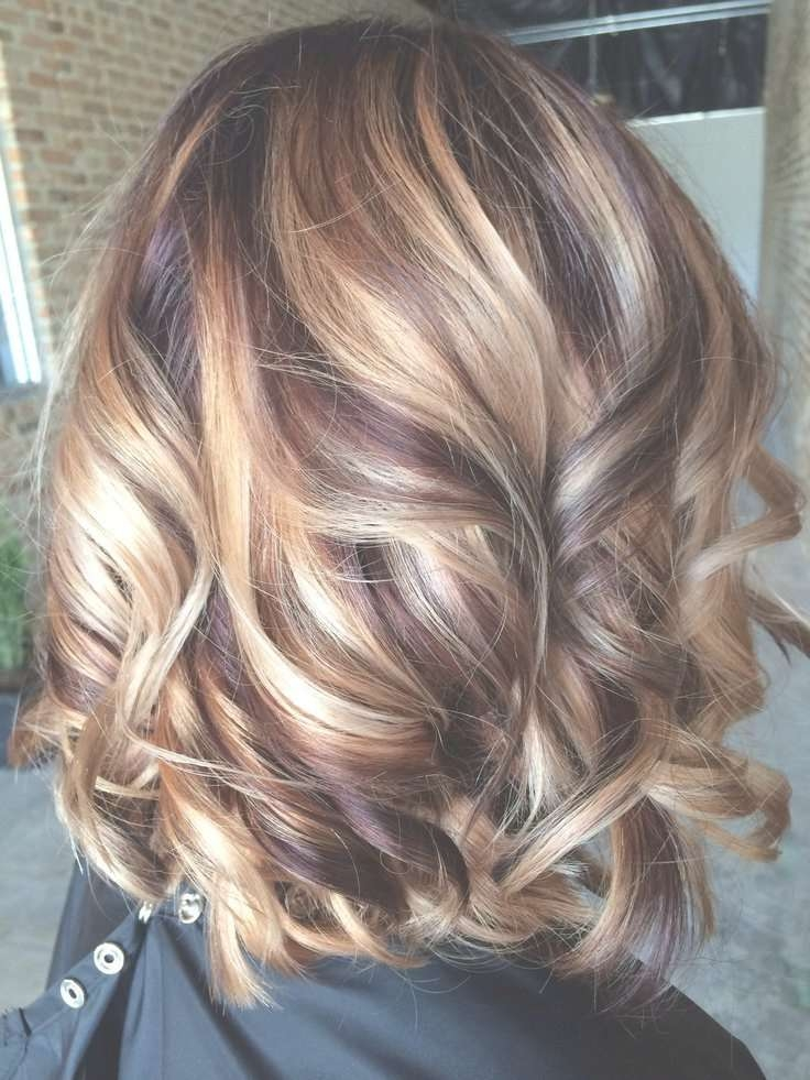 Medium Length Brunette With Blonde Highlights With Regard To Newest Medium Hairstyles And Highlights (View 3 of 15)
