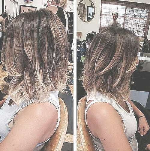 Featured Photo of Highlighted Medium Hairstyles