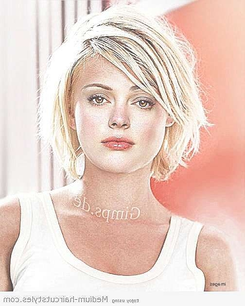 Medium Length Hair : Medium Hairstyles For Thin Hair And Round Regarding Most Recent Medium Haircuts For Round Faces And Thin Hair (View 14 of 25)