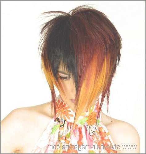 Medium Length Hair Style Gallery With Newest Dramatic Medium Hairstyles (View 14 of 15)