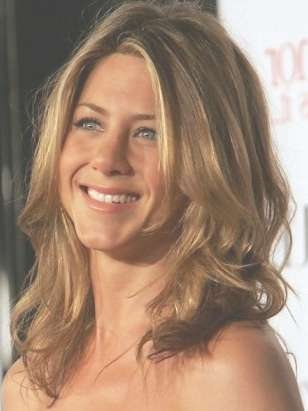 Medium Length Haircut For Thick Wavy Hair – Jennifer Aniston With Regard To Newest Medium Medium Haircuts For Thick Wavy Hair (View 5 of 25)