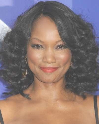 Medium Length Haircuts Black Hair Inside Most Popular Very Medium Haircuts For Black Women (View 20 of 25)
