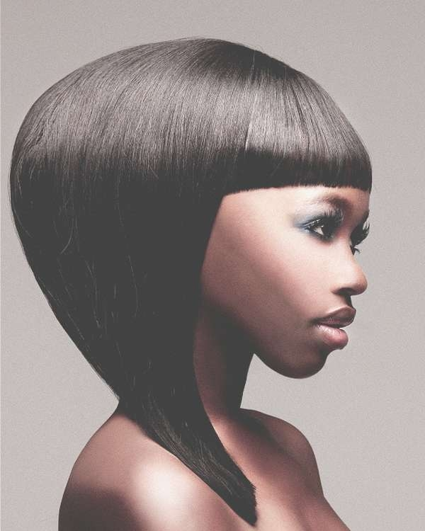 Medium Length Haircuts For Black Women – Hairstyle For Women & Man Inside Current Medium Haircuts For Black (View 11 of 25)